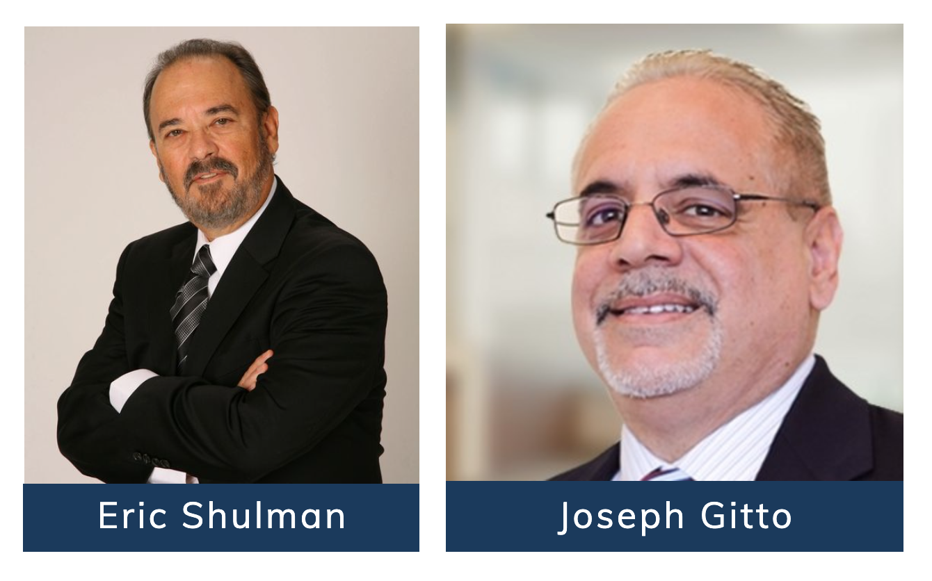 Eric Shulman, Joe Gitto, Exit Planning