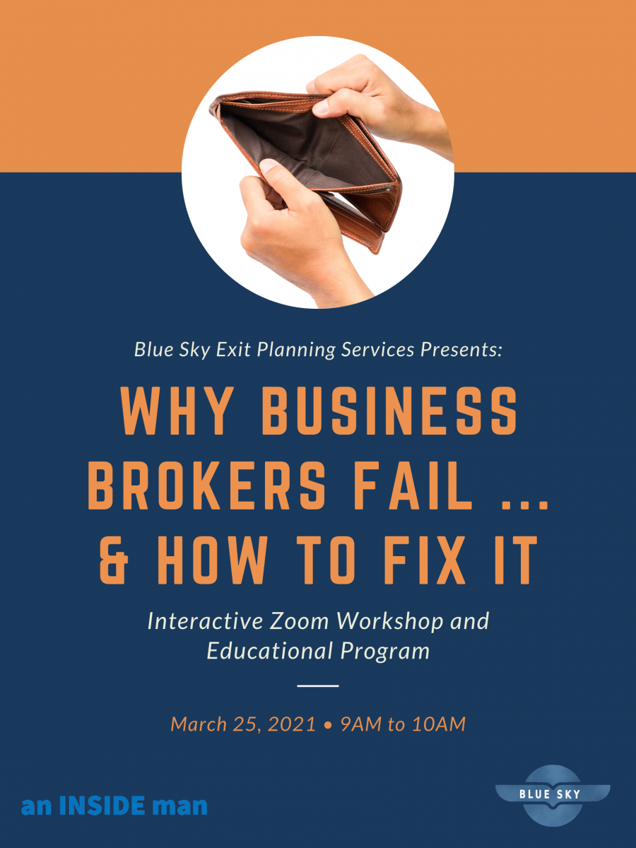 Why Business Brokers Fail